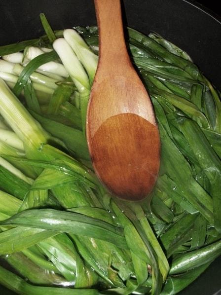 Сациви с луком-пореем. Пошаговый рецепт (2)