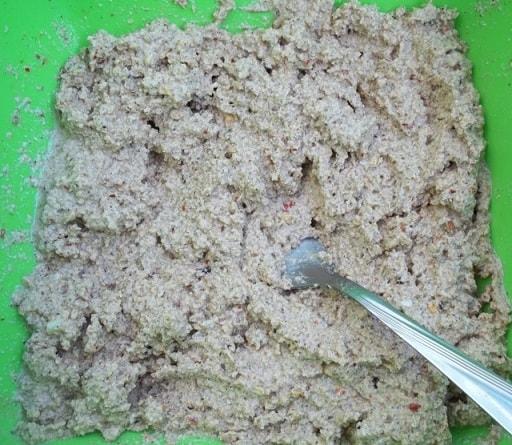 Сациви с луком-пореем. Пошаговый рецепт (5)