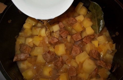 Соус со свининой по-грузински (6)