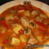 Соус со свининой по-грузински