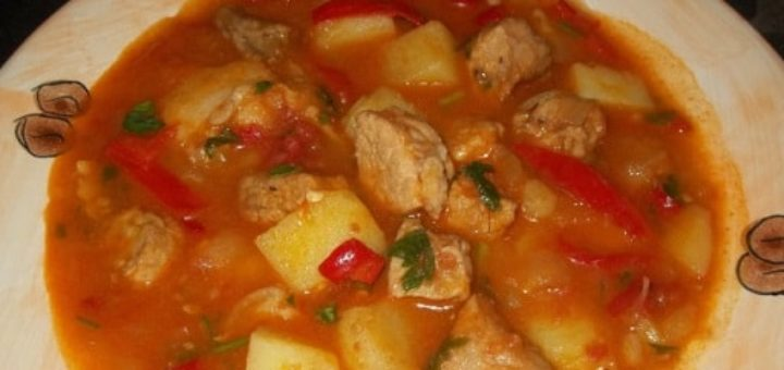 Свинина по аджарски рецепт