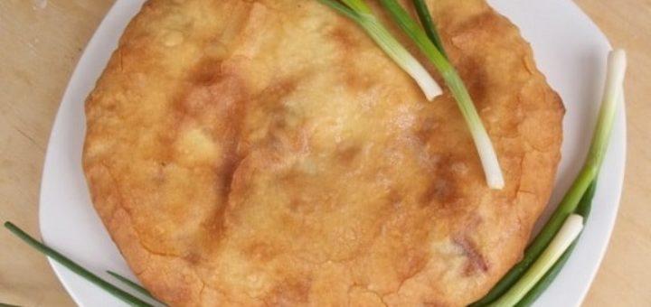 Сванские хачапури с зеленым луком