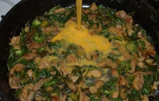 Запеканка из грибов с тархуном и сыром (3)