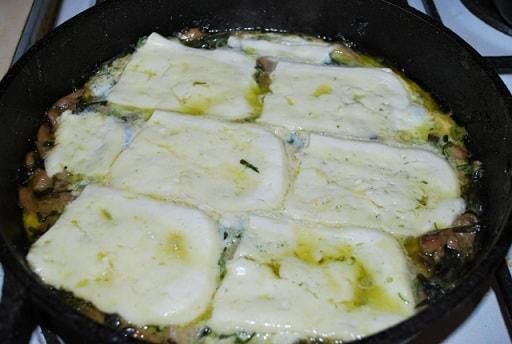 Запеканка из грибов с тархуном и сыром (6)