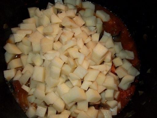 Аджапсандали с картофелем и помидорами (2)