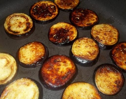 Баклажаны с ореховым соусом из фундука (5)