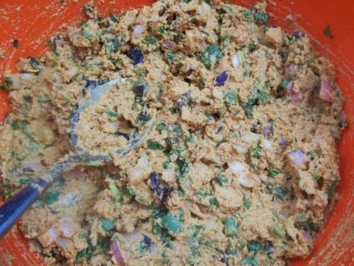 Баклажаны с ореховым соусом из фундука (8)