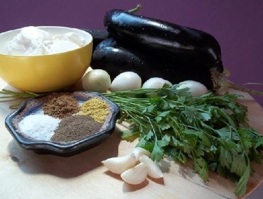 Баклажаны с пикантным соусом из майонеза (6)