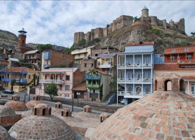 Древняя крепость НАРИКАЛА в Тбилиси