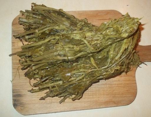 Экала с орехами. Грузинский рецепт (2)