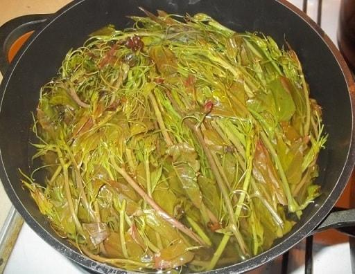 Экала с орехами. Грузинский рецепт (3)