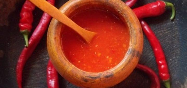 Грузинский острый томатный соус. Пошаговый рецепт