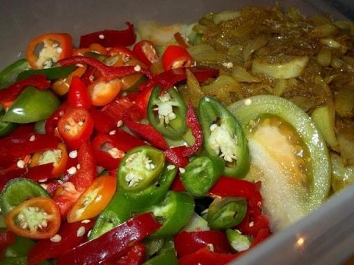 Маринованные зеленые помидоры. Грузинский рецепт (10)