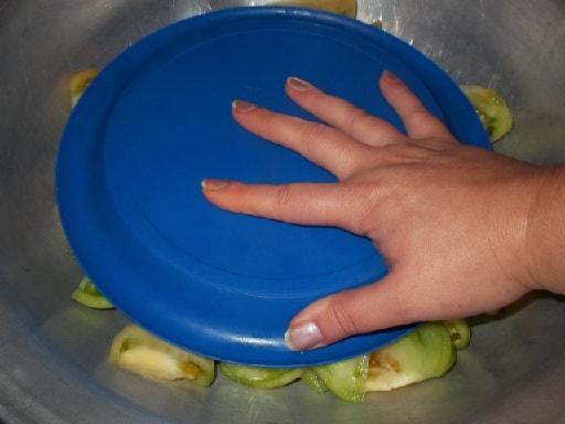 Маринованные зеленые помидоры. Грузинский рецепт (11)