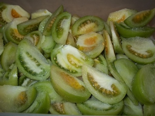 Маринованные зеленые помидоры. Грузинский рецепт (4)