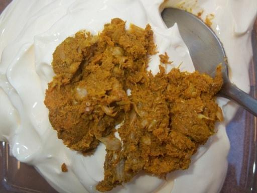 Шампиньоны с курицей в майонезе. Грузинский рецепт (2)