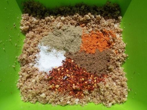 Салат из баклажанов с зеленью и специями (9)
