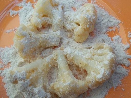 Цветная капуста в пряном соусе из майонеза и специй (6)
