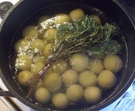 Зеленый ткемали. Рецепт кислого соуса из слив (2)