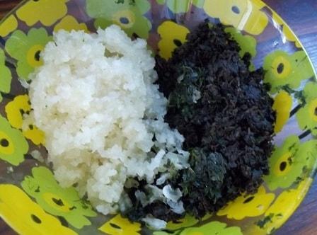 Зеленый ткемали. Рецепт кислого соуса из слив (8)