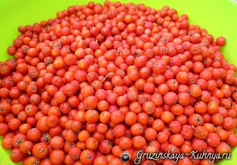 Джем из рябины с яблоками и грушами (6)