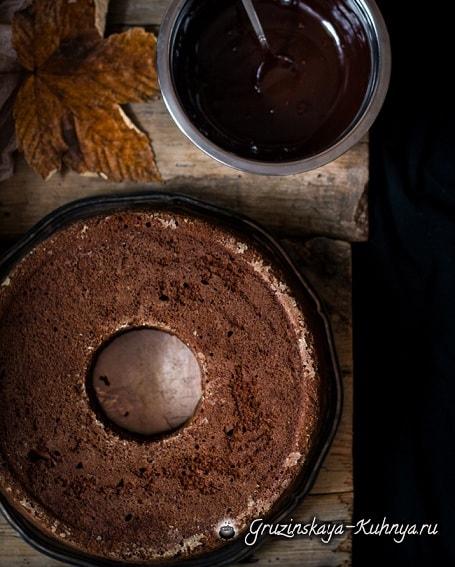 Тыквенный кекс с шоколадом. Рецепт