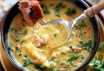Гороховый суп с копченым беконом (2)
