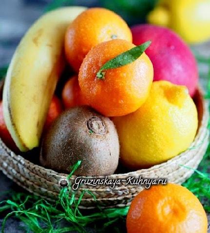Зимний коктейль из мандаринов с семенами чиа (2)