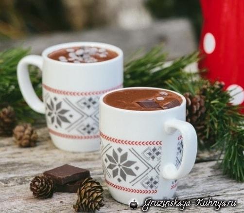 Как приготовить вкусный горячий шоколад (2)