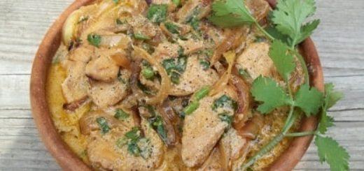 Курица со сметаной и грузинскими специями (3)
