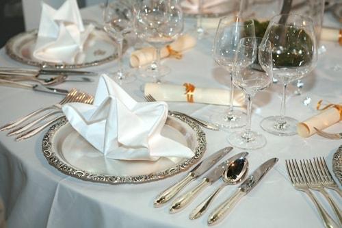 Сервировка праздничного стола (4)