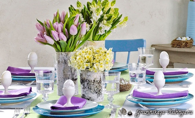 Сервировка праздничного стола (6)