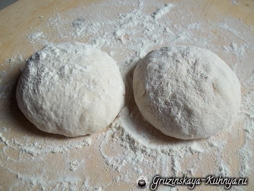 Хабизгина - пошаговый рецепт осетинских хачапури (12)