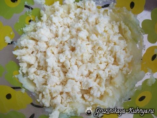 Хабизгина - пошаговый рецепт осетинских хачапури (3)