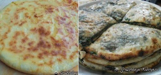 Хабизгина - пошаговый рецепт осетинских хачапури (8)