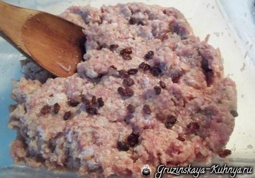 Котлеты с картофельным пюре по-грузински (1)