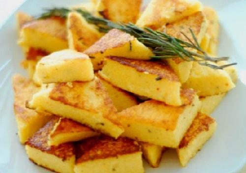 Полента с тыквой и сыром на чугунной сковороде Биол (2)