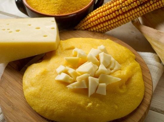 Полента с тыквой и сыром на чугунной сковороде Биол (3)