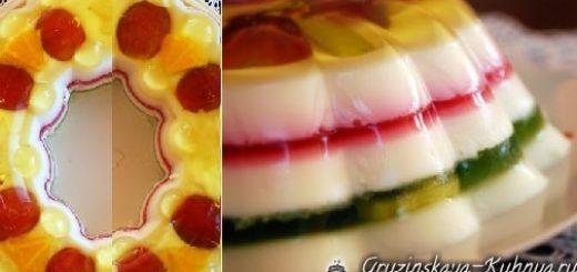 Рецепт желейного торта (5)