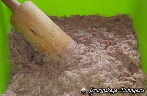 Аджарские лобиани - лодочки с фасолью (10)