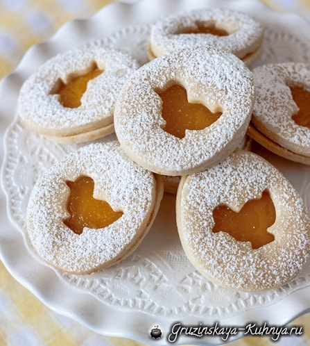 Пасхальное песочное печенье. Рецепт (1)