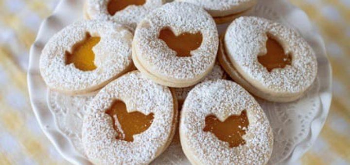 Пасхальное песочное печенье. Рецепт (2)