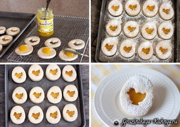 Пасхальное песочное печенье. Рецепт (3)