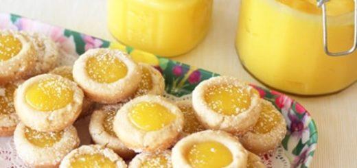 Рецепт лимонного творога для печенья (1)