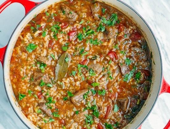 кулинария рецепты супов суп харчо
