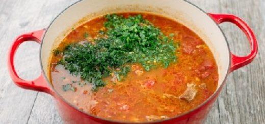 Рецепт супа харчо (2)