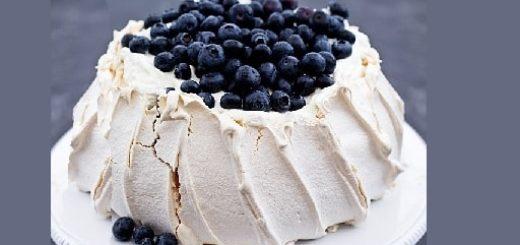 Торт Павлова с ягодами. Рецепт (2)