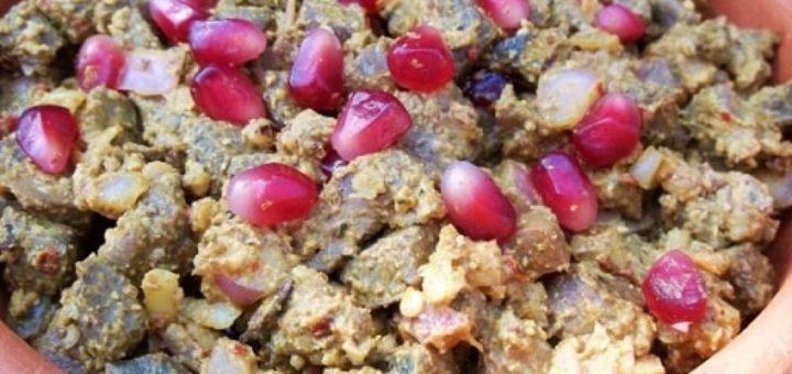 Кучмачи из потрохов с грецкими орехами (8)