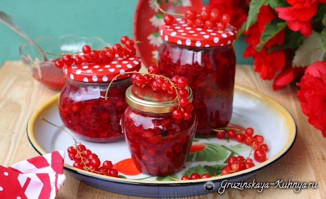 Фруктовое желе из красной смородины (1)
