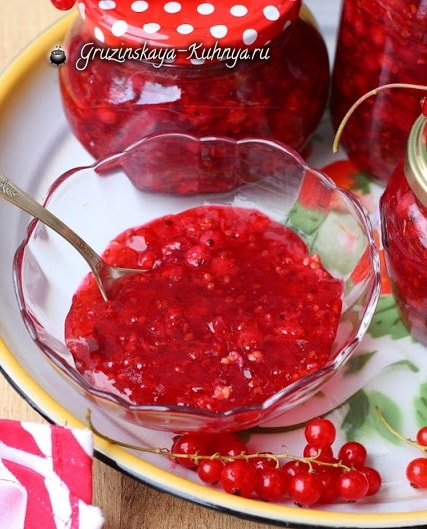 Фруктовое желе из красной смородины (2)